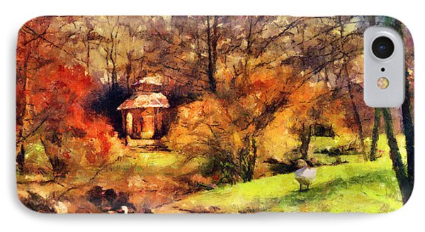 Gazebo In The Park Phone Case by Jai Johnson