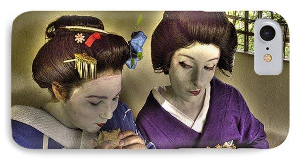 Geisha Lunch Phone Case by William Fields