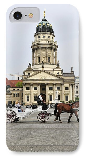 Gendarmenmarkt Berlin Germany IPhone Case by Matthias Hauser