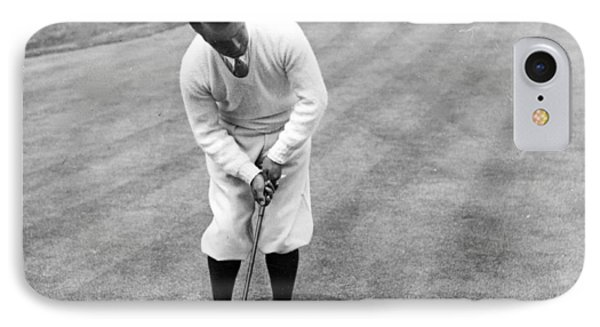 IPhone Case featuring the photograph Gene Sarazen Playing Golf by International  Images