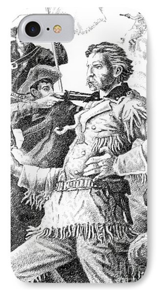 General Custer's Last Stand Phone Case by Gordon Punt