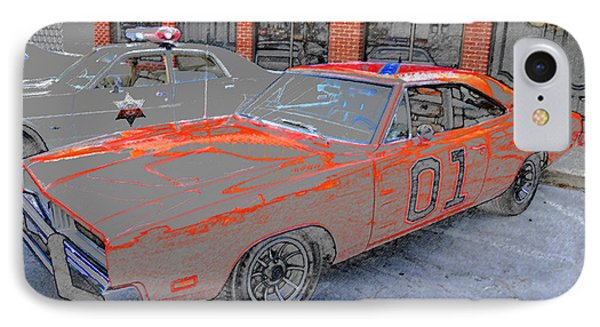General Lee One Phone Case by David Lee Thompson