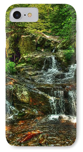 Gentle Falls IPhone Case by Dan Stone