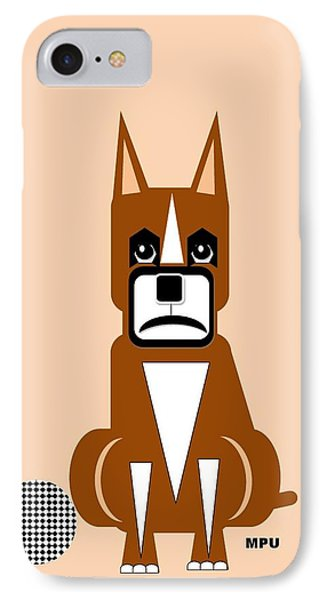 Geo Boxer Phone Case by Maria Urso