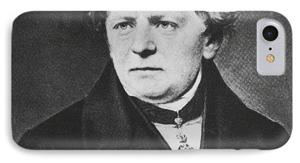 Georg Ohm, German Physicist Phone Case by Science Source