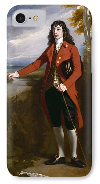 George Boone Roupell Phone Case by John Singleton Copley