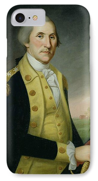 George Washington At Princeton Phone Case by Charles P Polk