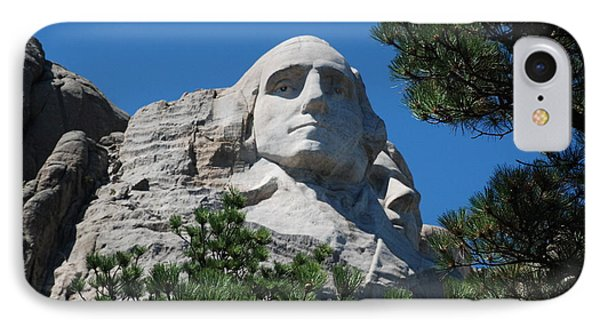 George Washington Face  IPhone Case by Dany Lison