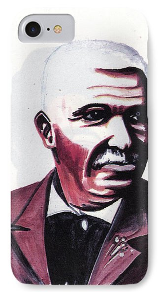 Georges Washington Carver Phone Case by Emmanuel Baliyanga