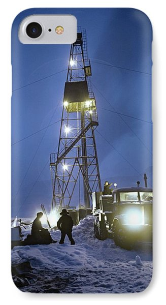 Geothermal Power Station Drilling Phone Case by Ria Novosti