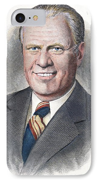 Gerald Ford (1913-2006) Phone Case by Granger
