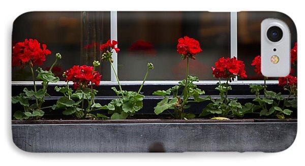 Geranium Flower Box Phone Case by Doug Sturgess