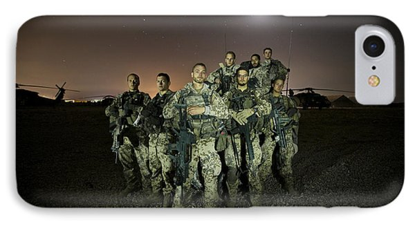 German Army Crew Poses Phone Case by Terry Moore