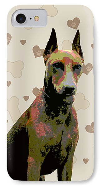 German Pinscher Phone Case by One Rude Dawg Orcutt