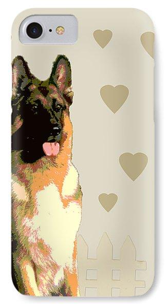 German Shepherd Phone Case by One Rude Dawg Orcutt