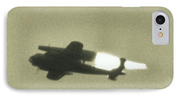 German Wwii Ramjet Bomber In Flight IPhone Case by Detlev Van Ravenswaay