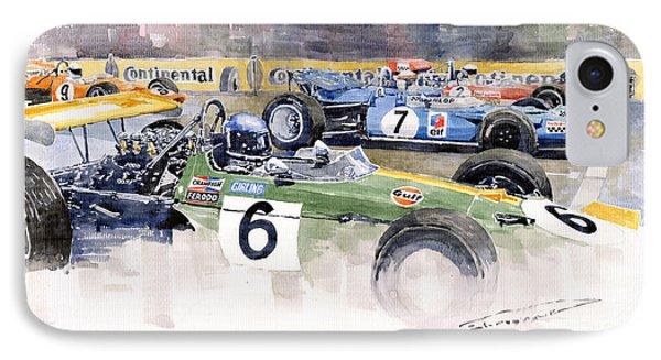 Germany Gp Nurburgring 1969 Phone Case by Yuriy  Shevchuk