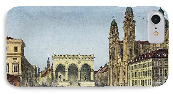 Germany: Munich, C1845 IPhone Case by Granger