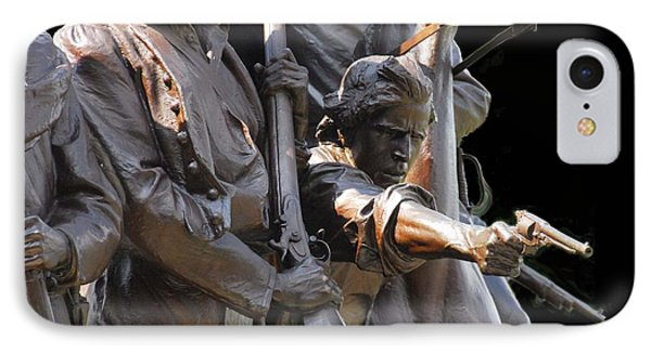 IPhone Case featuring the photograph Gettysburg Monument by Cindy Manero