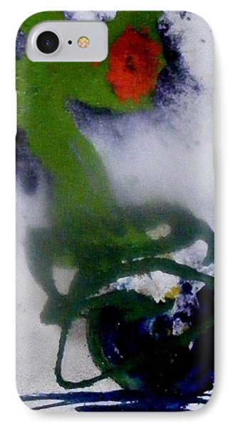 Ghost Flower IPhone Case