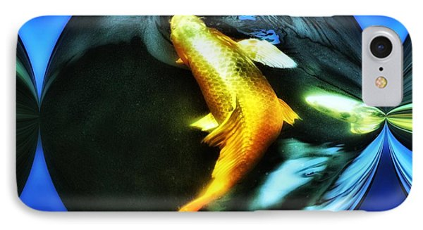 Ghost Koi Phone Case by Don Mann