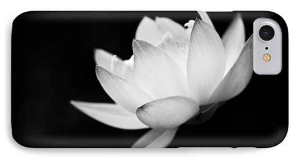 Ghost Lotus II IPhone Case by Priya Ghose