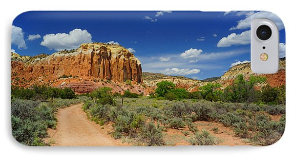 Ghost Ranch Box Canyon Trail Vista   IPhone Case