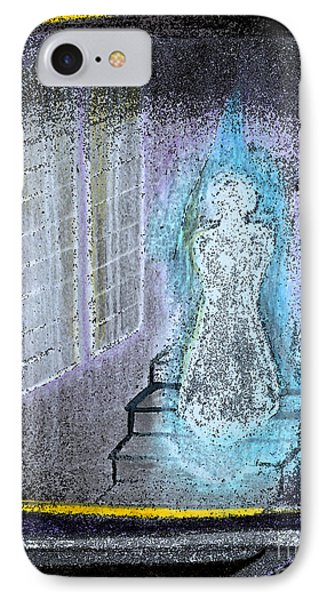 Ghost Stories Haunted Stairs Phone Case by First Star Art