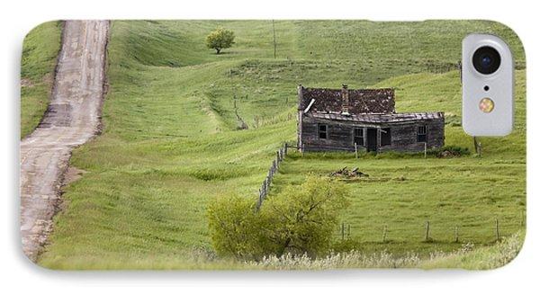 Ghost Town Galilee Saskatchewan IPhone Case