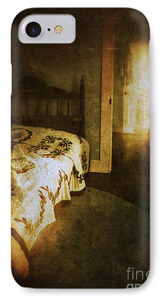 Ghostly Figure In Hallway Phone Case by Jill Battaglia