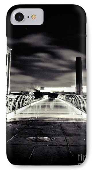 Ghosts In The City IPhone Case by Lenny Carter