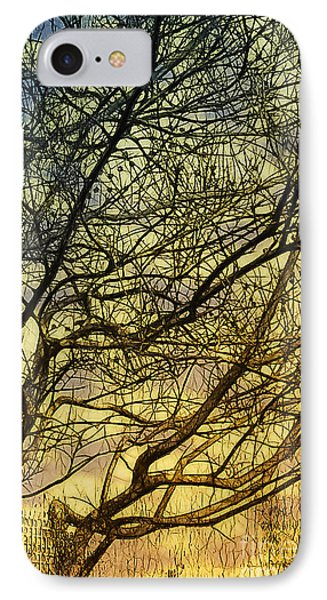 Ghosts Of Crape Myrtles Phone Case by Judi Bagwell