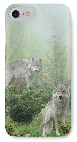 Ghosts Of The Forest IPhone Case by Andy-Kim Moeller