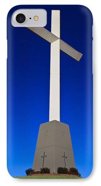 Giant Cross IPhone Case by Doug Long