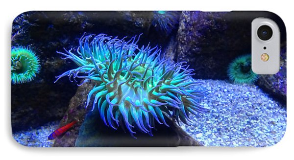 Giant Green Sea Anemone Phone Case by Mariola Bitner