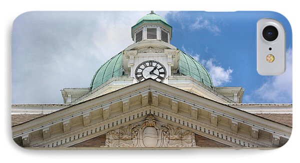 Giles County Courthouse Details Phone Case by Kristin Elmquist