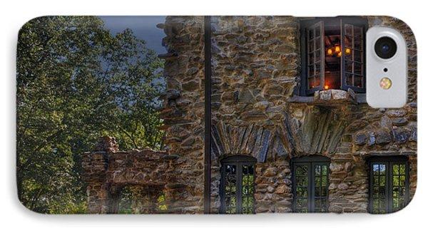Gillette Castle Exterior Hdr Phone Case by Susan Candelario