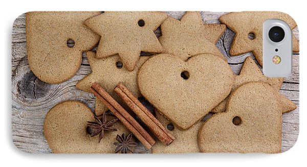 Gingerbread IPhone Case by Nailia Schwarz