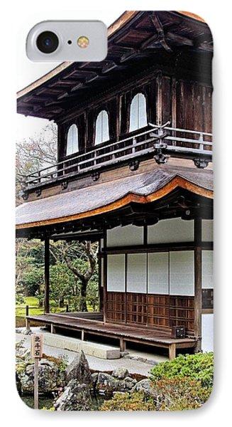 Ginkakuji Temple IPhone Case