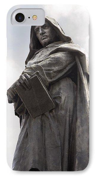 Giordano Bruno, Italian Philosopher Phone Case by Sheila Terry