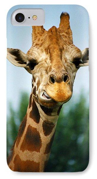 Giraffe Phone Case by CJ Clark