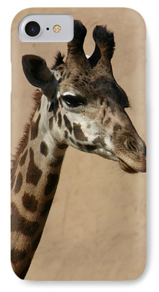 IPhone Case featuring the photograph Giraffe by Kelly Hazel