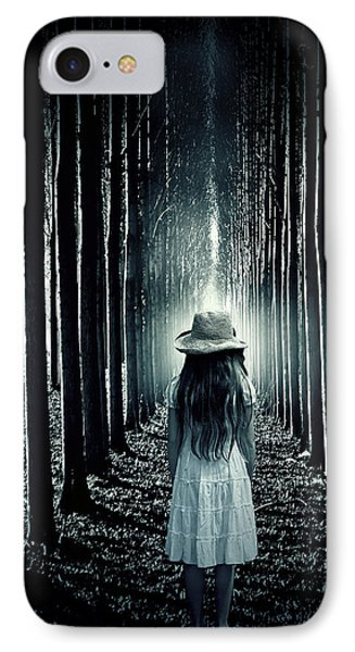 Girl In The Forest Phone Case by Joana Kruse