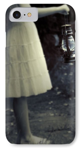 Girl With An Oil Lamp IPhone Case by Joana Kruse