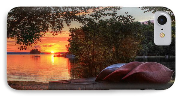 Give Me A Canoe Phone Case by Lori Deiter