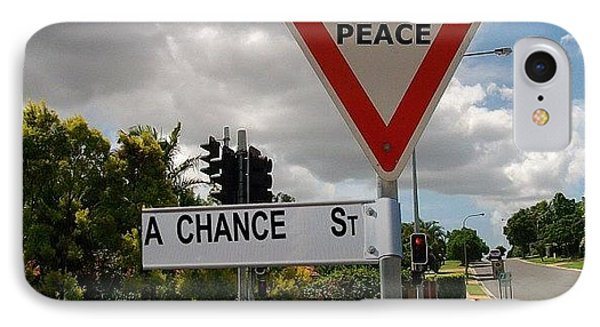 Give Peace A Chance IPhone Case