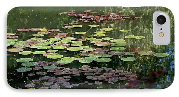 Giverny Lily Pads IPhone Case by Eric Tressler