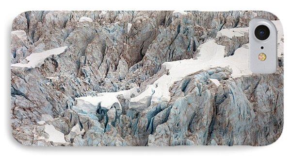 Glacial Crevasses Phone Case by Mike Reid