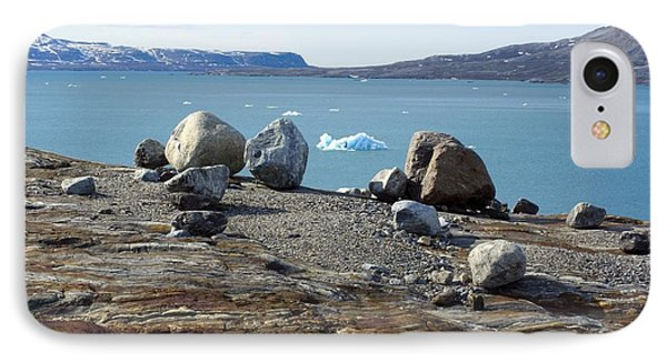 Glacial Erratics And Fjord Phone Case by Dr Juerg Alean