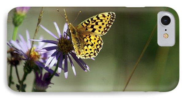 Glacier Butterfly Phone Case by Marty Koch